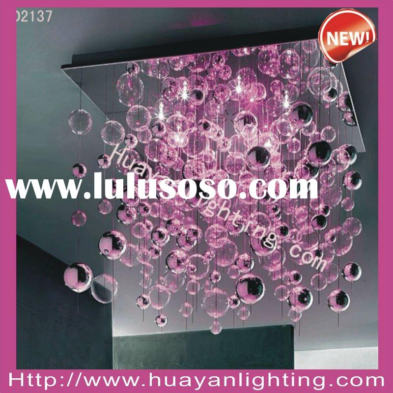 crystal LED ceiling lighting, lighting,modern lamp