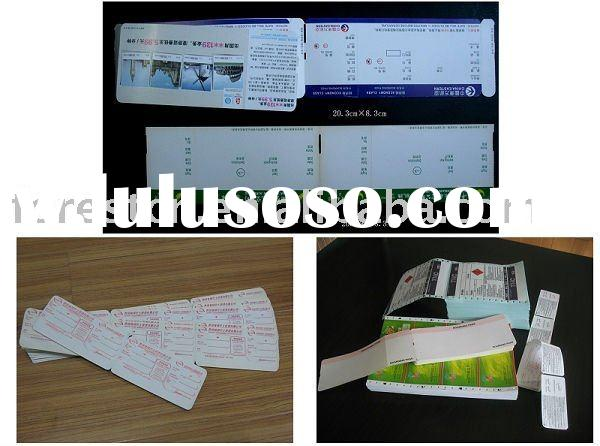 custom bus ticket printing