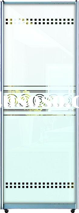 decorative glass door, tempered glass door, sliding glass door