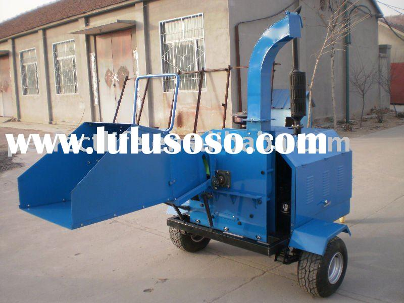 diesel wood chipper , wood cutter , wood shredder