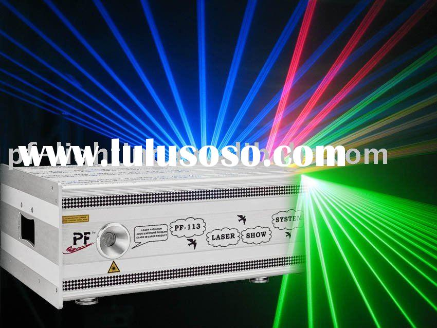 disco RGB laser light, high power stage disco laser light