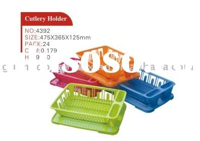 dish rack with tray