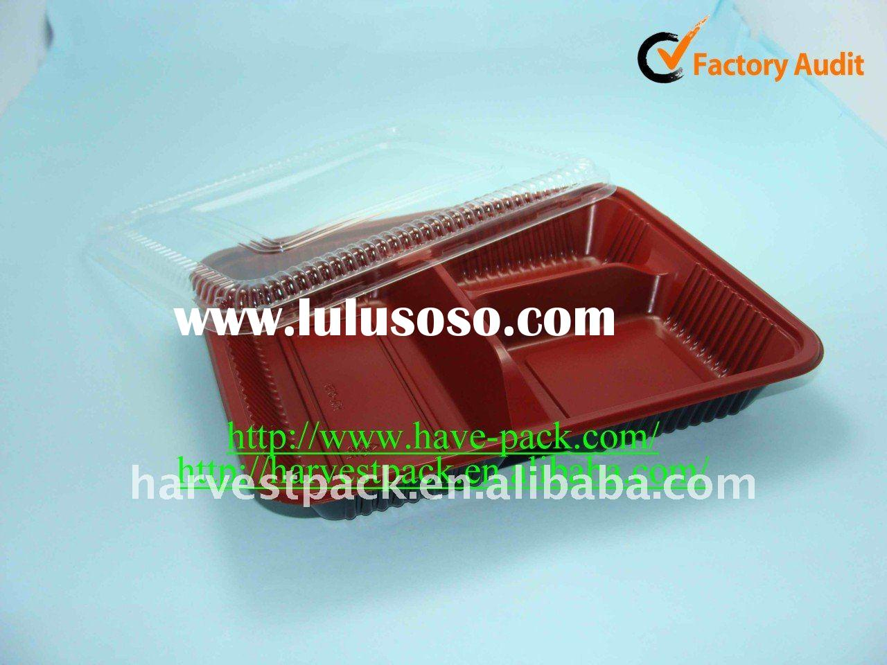 disposable microwave plastic fast food box