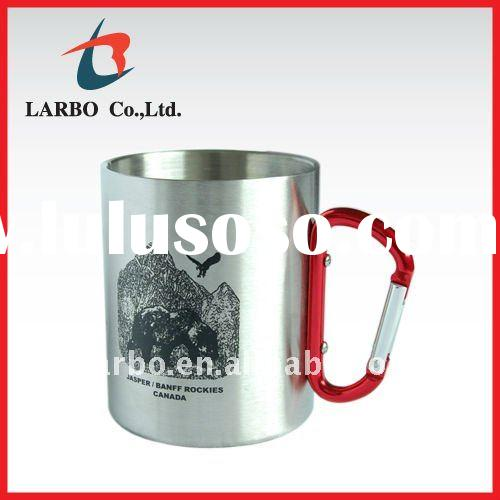 double wall stainless steel camping cup