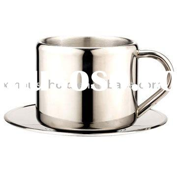 double wall stainless steel coffee coffee mug