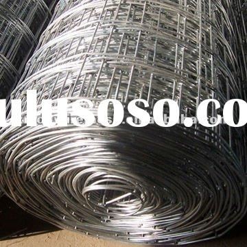 electro galvanized welded wire mesh factory