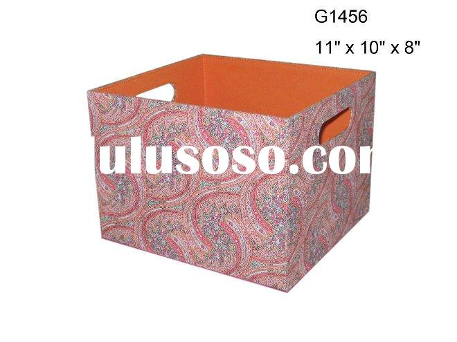 excellent 600D&leather storage box