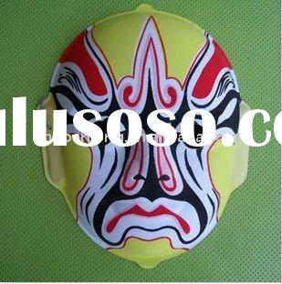 fashion helloween carnival chinese opera mask face mask design procedure face china custom plastic d