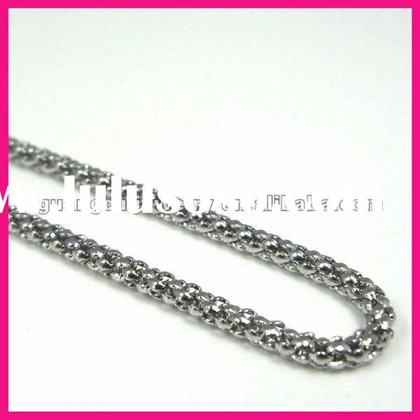 fashion popular stainless steel large link chain necklaces for men