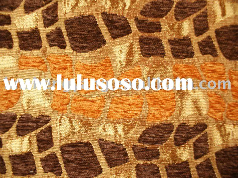 fashionable chenille sofa fabric for furniture