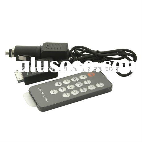 fm radio transmitter with Remote control and Car charger