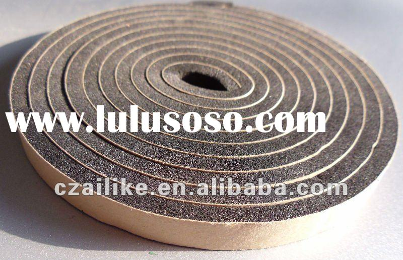 foam sealing strip/adhesive backed rubber strips