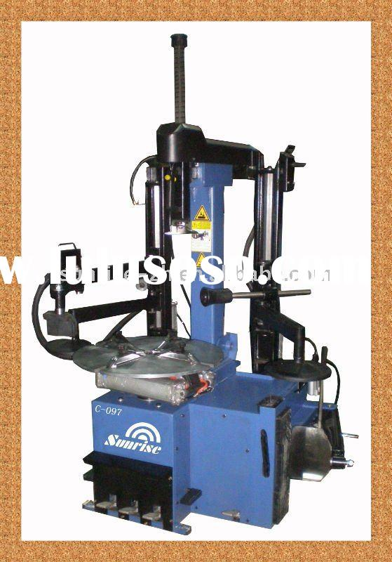 full automatic tyre changer with double help arm