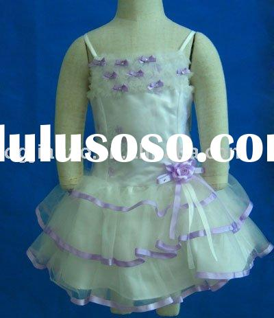Evening Wear  Women on 2011 Girls  Formal Wear Flower Dress Princess White Color Girl Dress