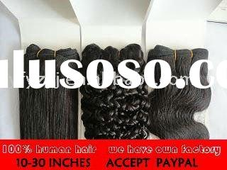gray extension and hair accept PAYPAL accept sample order and regular order with your own logo we ha
