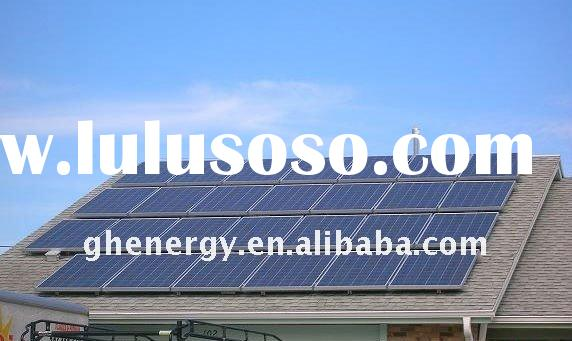 green energy 5000W solar power system for home use
