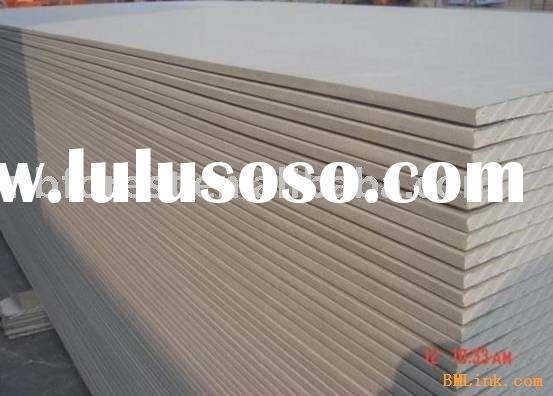 gypsum waterproof moistureproof pvc ceiling wall panel board for T grid furniture building finishing