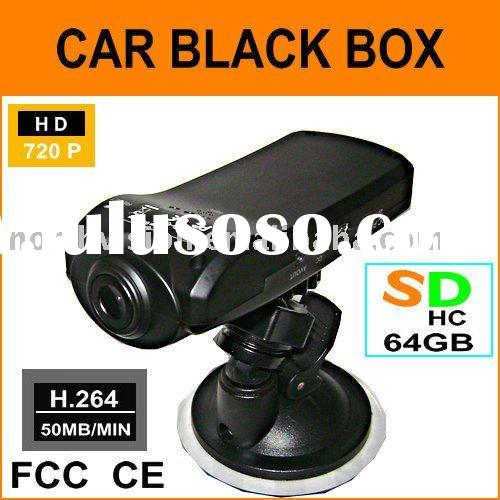 hd 720P car black box / car DVR / car driving recorder system support 32GB SD card