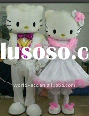 hello kitty mascot costumes in wedding dress