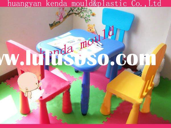 high quality plastic kids table and chairs