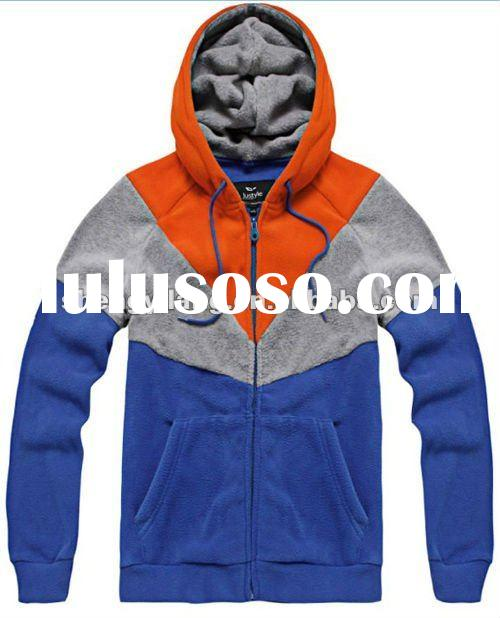hooded sweatshirt men clothing fashion jointing men's hoody