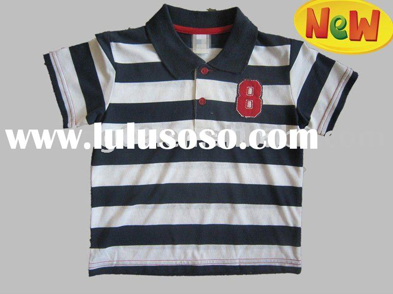 hot and fashion black and white striped shirts