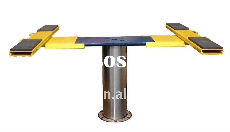 in-ground single post car lift