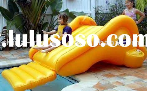 inflatable swimming pool water slide