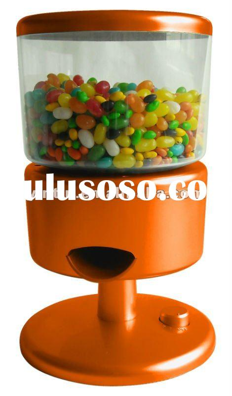 jar dispenser , mini candy dispenser , motion cereal dispenser ,new patent product plastic cereal di