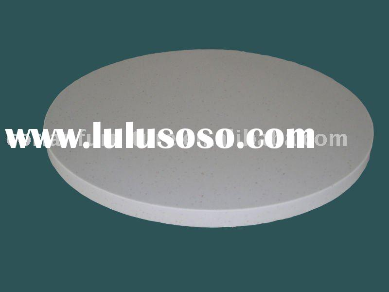 kc-1114 Acrylic solid surface corian made round tabletop