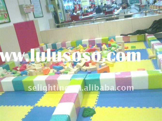 kids play center, naughty castle, kids playground equipment(boxing)