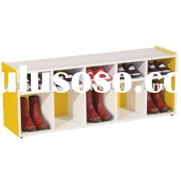 kids wooden shoes rack