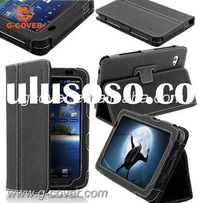 leather case for samsung galaxy tab p1000,pouch for Samsung galaxy tab