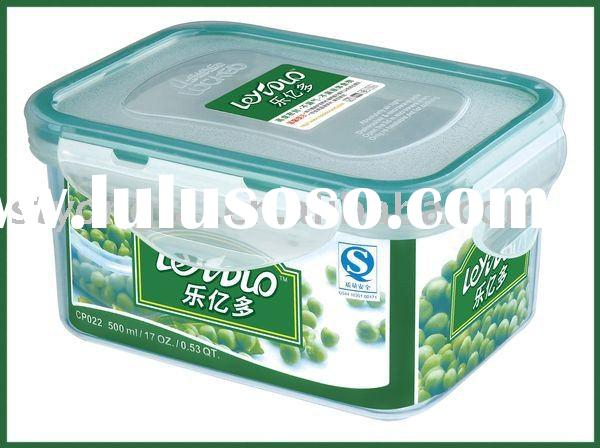microwave plastic food container locked