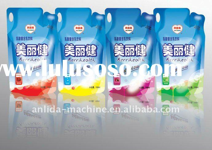 milk bag filling sealing packing machine
