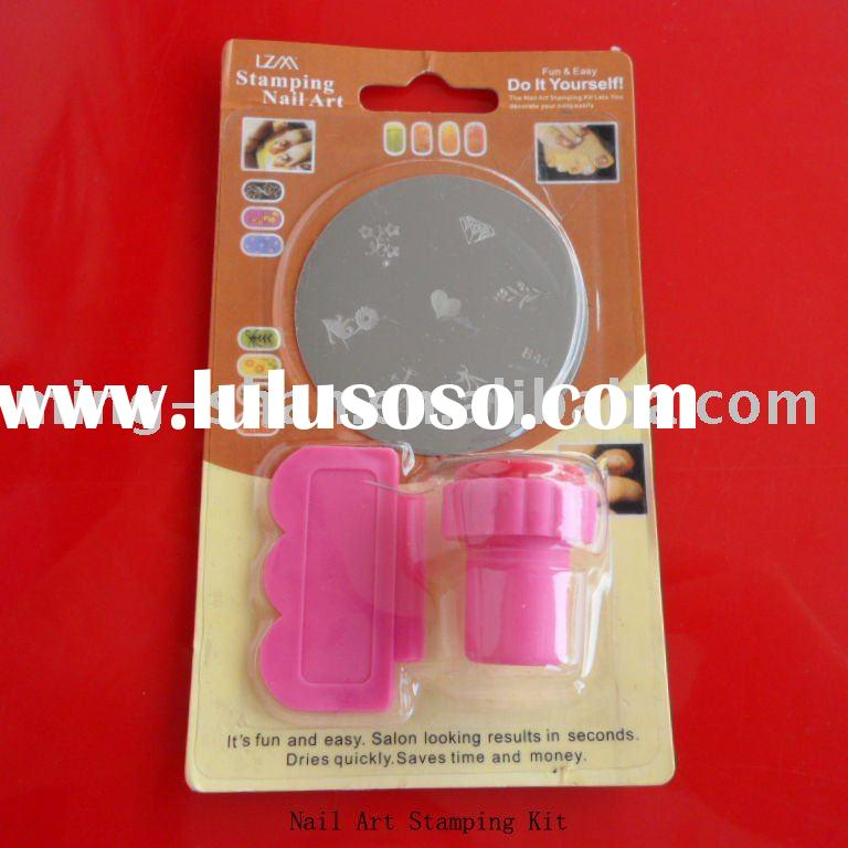 mingshan stamping nail art kit nail supply