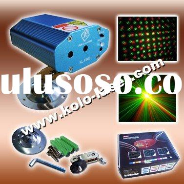 mini laser projector, mini laser light, mini laser show system
