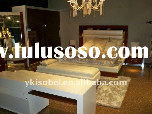 modern design home furniture bedroom set queen size YS003