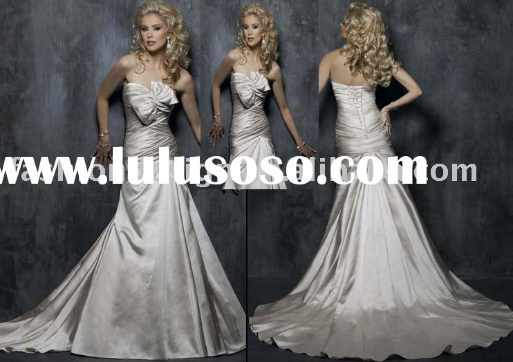 new designer pearl avril bridal wedding dresses,manufacture wedding gowns YS253