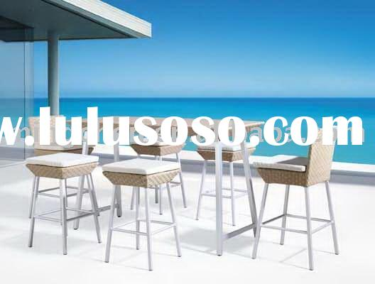 outdoor furniture NEW INDOOR OUTDOOR WICKER RATTAN BAR FURNITURE