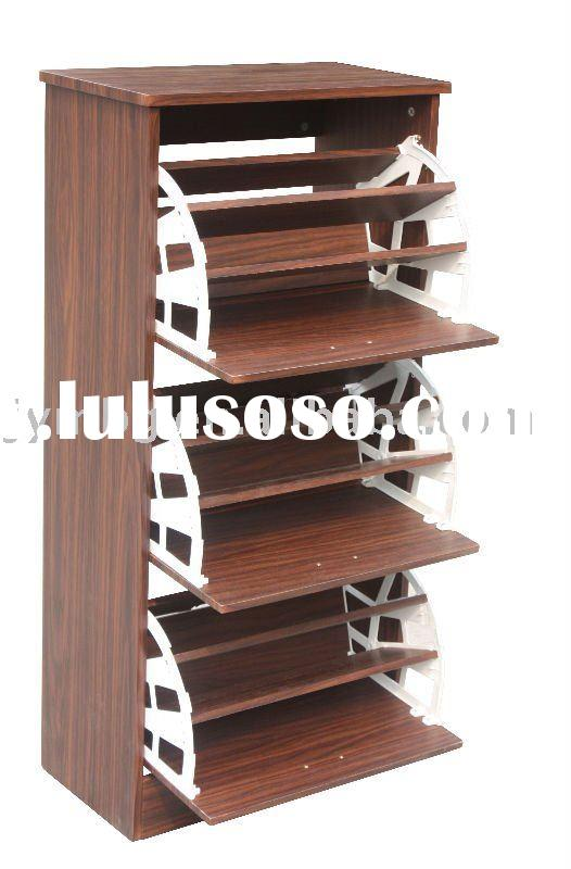 wooden shoe rack design plans | woodideas