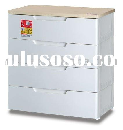 plastic drawer, plastic chest, plastic storage drawer