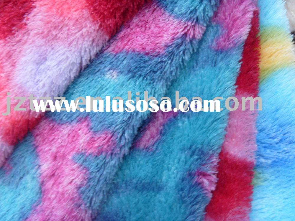 plush fabric; velvet fabric;fleece fabric