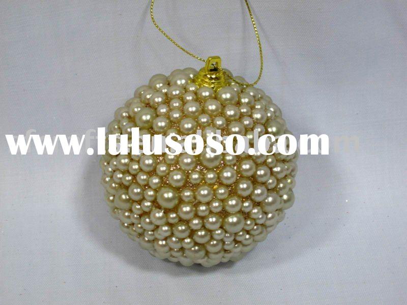 powder christmas ball/christmas decorations/holiday decorations