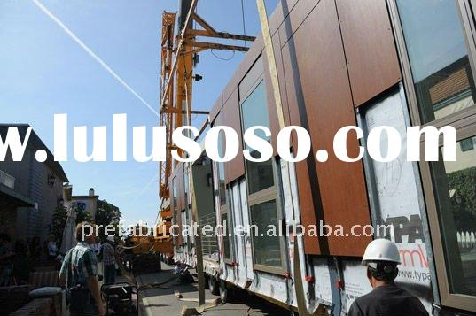 prefab modular steel house;Reconstruction project build a building for home