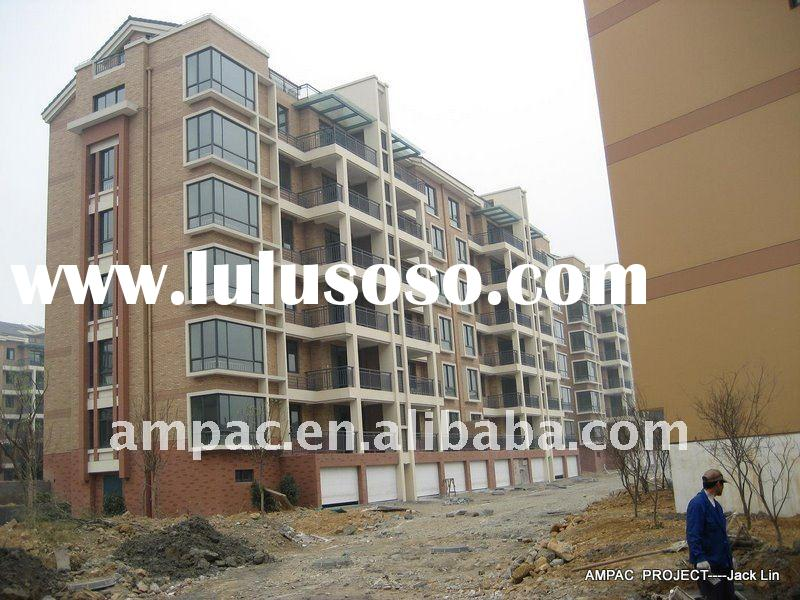 prefabricated steel structure apartment(mid-rise building,prefab building)