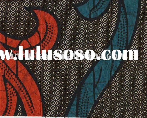 real african wax fabrics 100%cotton print wax