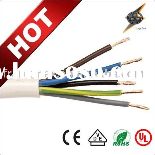 recliner cable PVC Insulated Round Flexible Multi Core Cable