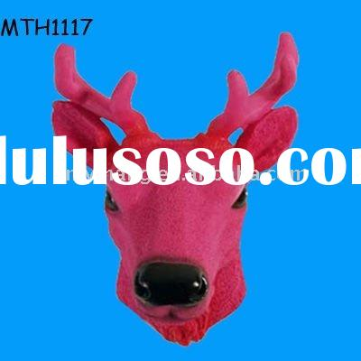 resin deer head for home decoration