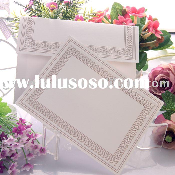 royal wedding cards/invitation card/wedding invitations -- T024